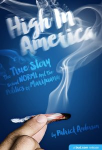 High in America book cover by Patrick Anderson